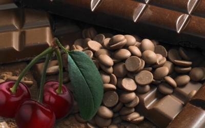 Mousse au Chocolat Cerises Confites