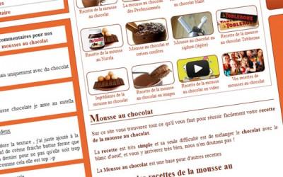 Nouveau site mousse au chocolat