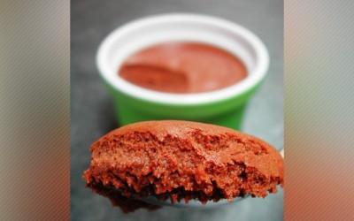Mousse au Chocolat au thé vert
