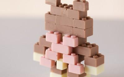 Lego au chocolat